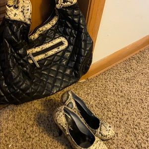 Bundle Deal Women's Handbag and Heels